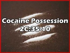Arrested Possession Cocaine Charge Essex County NJ