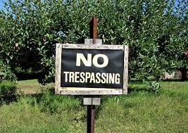 Montclair NJ Trespassing Charges
